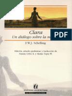 Schelling - Clara, Un Diálogo Sobre La Muerte