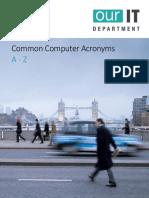 Common Computer Acronyms