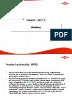 Rebates Vistex Analysis