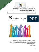 Orientaciones para eje DOS Lengua y Literatura.doc
