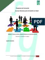 Tema 4 - Dotación y Jornada de Trabajo