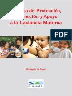 Politica Proteccion Promocion Lactancia Materna