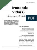 Bergson y El Vitalismo