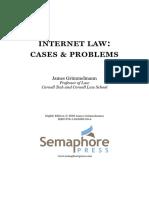Grimmelmann, Internet Law