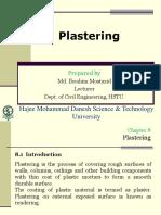Chapter 8 Plastring