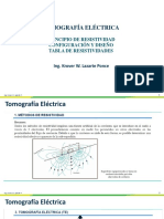 ERT - Principios de la tomografía eléctrica 2D