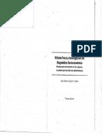 Método Para La Investigación Del Diagnóstico Socioeconómico (Pautas para el desarrollo de las regiones, en países qué han sido mal administrados)