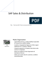 SAP Sales & Distribution