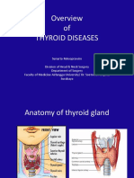 Overview Thyroid Diseases Prof SNT