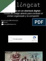 Conviertase en Un Sherlock Digital Bellingcat