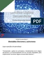 CLS Circuitos Secuenciales Sincronos
