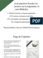 Utilización de paraísos fiscales en delitos financieros en la Argentina