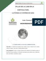 El Influjo de La Luna en La Horticultura