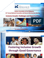 3. Inclusive Growth Challenges and Opportunities - Peter Wallace