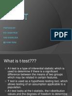 Presentation T Test