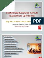 05. Confiabilidad Humana Clave de La Excelencia Operacional_ppt_PAM 2013