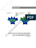 PTC (for Educational Use Only) Structural and Thermal Simulation With ProEngineer Wildfire -T981-330!01!467pgs