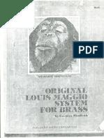 Maggio Original Louis Maggio System for Brass