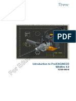 PTC University (For Educational Use Only) Introduction to ProEngineer Wildfire 4.0 (T2169-360-01) 627pgs
