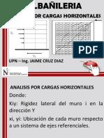 cargas horizontales