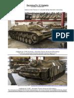 Surviving Panzer IV Variants