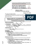 PERCY LUIS RAMOS TAPIA - Análisis Del Expediente Derecho Procesal Laboral