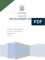 Risk Management Manual 2ed