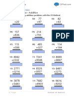 Practice Workbook LR Method for Addition Subtraction