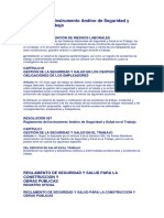 Reglamentos Ecuador