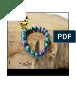 Gelang Batu Ruby Tanzania, 0877-8189_4000