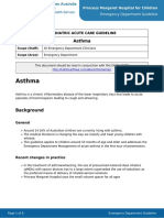 Kids Health WA Guideline - Asthma