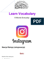 Learn Vocabulary Set 56