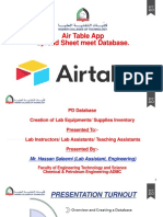 Air Table PD Session