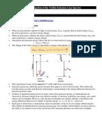 Spectroscopy Lab – Investigation of the Visible Emission Line Spectra