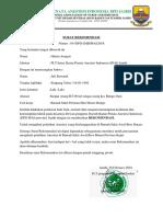 Surat Rekom PL Jefi