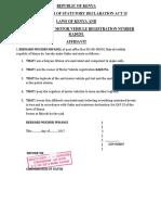 Affidavit Lost LogbookCHUNES