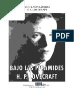 LOVECRAFT - BAJO LAS PIRAMIDES