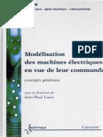 Louis - Modelisation des machines electriques en vue de leur commade - Lavoisier Hermes.pdf