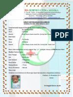 Surat Keterangan Lahir by Ny Mariatul Ulfah - Copy
