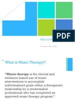 What is Music Therapy