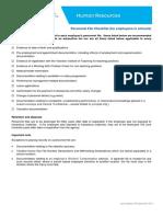 Personnel File Checklist