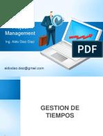 gestion de tiempo - project management