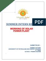 Summer Intern- Report