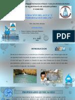 Filtración Del Agua.
