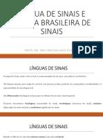 Lingua brasileira de sinais