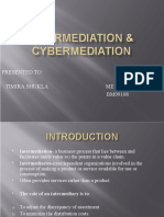 Intermediaries and Cybermediaries