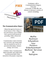 communication fact sheet portfolio