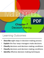 Chapter 7 Decision Making 170214140426