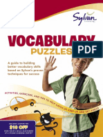 18547174 Second Grade Vocabulary Puzzles by Sylvan Learning Excerpt