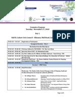 Tentative Agenda - 3rd SME Conference
